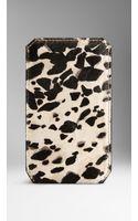 Burberry Animal Print Ponyskin Iphone 55s Case - Lyst