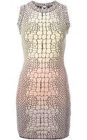 M Missoni Crocodile Print Dress - Lyst