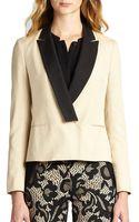 Diane Von Furstenberg Arnette Tuxedo Jacket - Lyst