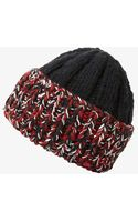 Missoni Chunky Knit Beanie - Lyst