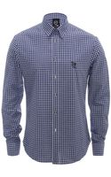 McQ by Alexander McQueen Checked Harness Shirt - Lyst