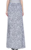 Richard Nicoll Long Skirt - Lyst