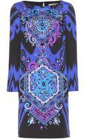 Emilio Pucci Printed Silk Dress - Lyst