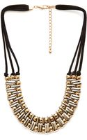 Forever 21 Beaded Cord Necklace - Lyst