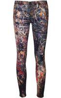 Hudson Nico Skinny Jeans - Lyst