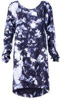 Cristina Sabaiduc Coal Print Tunic Dress - Lyst