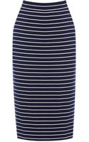 Oasis Stripe Skirt - Lyst