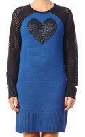 Love Moschino Knitwear Dress - Lyst
