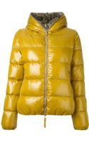 Duvetica Contrasting Lining Padded Jacket - Lyst