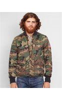Denim & Supply Ralph Lauren Quilted Camo Liner Jacket - Lyst