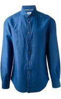 Brunello Cucinelli Denim Shirt - Lyst