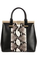 Ted Baker Exotic Leather Tote Bag - Lyst