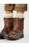 Bed Stu + Free People Rush Shearling Boot - Lyst