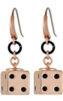 Marc By Marc Jacobs Roll The Dice Earring - Lyst