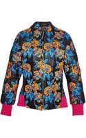 Thakoon Floralembroidered Bomber Jacket - Lyst