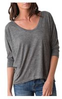 Alternative Apparel Dolman Top - Lyst