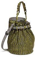 Alexander Wang Diego Brush Leather Bucket Bag - Lyst