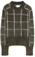 Wood Wood Carly Mohair and Wool Blend Sweater - Lyst