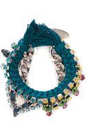 Joomi Lim Cotton Braid Crystal Bracelet - Lyst