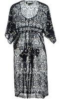 Junya Watanabe Kneelength Dress - Lyst