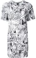 McQ by Alexander McQueen Manga T-shirt Dress - Lyst