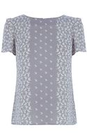 Oasis Bird Placement Formal Tshirt - Lyst