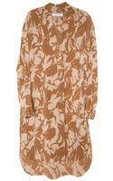 By Malene Birger Nilde Silk Print Tunic Dress - Lyst