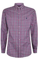 Polo Ralph Lauren Slim Fit Buttondown Plaid Shirt - Lyst