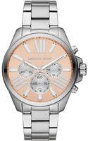 Michael Kors Womens Chronograph Wren Stainless Steel Bracelet 42mm - Lyst