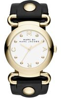 Marc By Marc Jacobs Ladies Molly Goldtone Watch - Lyst