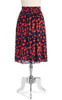 Ella Moss Floral Skirt - Lyst