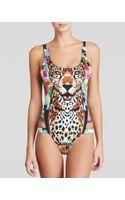 Mara Hoffman Jaguar One Piece Swimsuit - Lyst