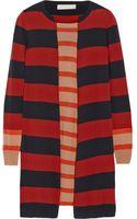 Stella McCartney Striped Wool Dress - Lyst