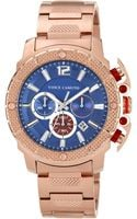 Vince Camuto Mens Chronograph Rose Goldtone Stainless Steel Bracelet 46mm Vc - Lyst