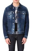 Armani Jeans Denim Jacket Denim - Lyst