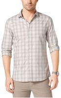 Michael Kors Plaid Slimfit Cotton Shirt - Lyst