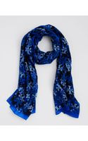 Tory Burch T Stamped Scarf - Lyst