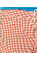 Polo Ralph Lauren Polo Traveler Checked Swim Shorts - Lyst