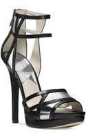 Michael Kors Michael Jaida Platform Evening Sandals - Lyst