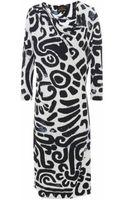 Vivienne Westwood Anglomania Maze Print Pax Dress - Lyst