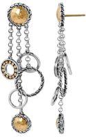 John Hardy Circle Chandelier Earrings - Lyst