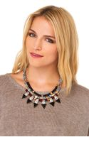 Akira Tribal Jewels Necklace - Lyst