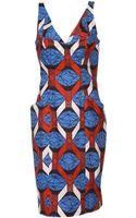 Stella Jean Kneelength Dress - Lyst