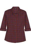 A.P.C. Atelier De Production Et De Création Mike Plaid Cotton Shirt - Lyst