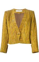 Givenchy Vintage Gold Striped Jacket - Lyst