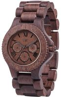 Wewood Watches Sitah Indian Rosewood Wood Chrono Watch - Lyst