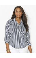 Lauren by Ralph Lauren Three-quarter-sleeved Shirt - Lyst