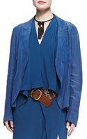 Donna Karan New York Trompe Loeil Easy Jacket - Lyst