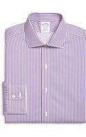 Brooks Brothers Non-iron Extra-slim Fit Bangle Stripe Dress Shirt - Lyst