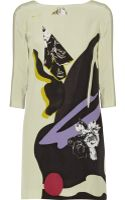 Prabal Gurung Floral-print Silk Crepe De Chine Dress - Lyst